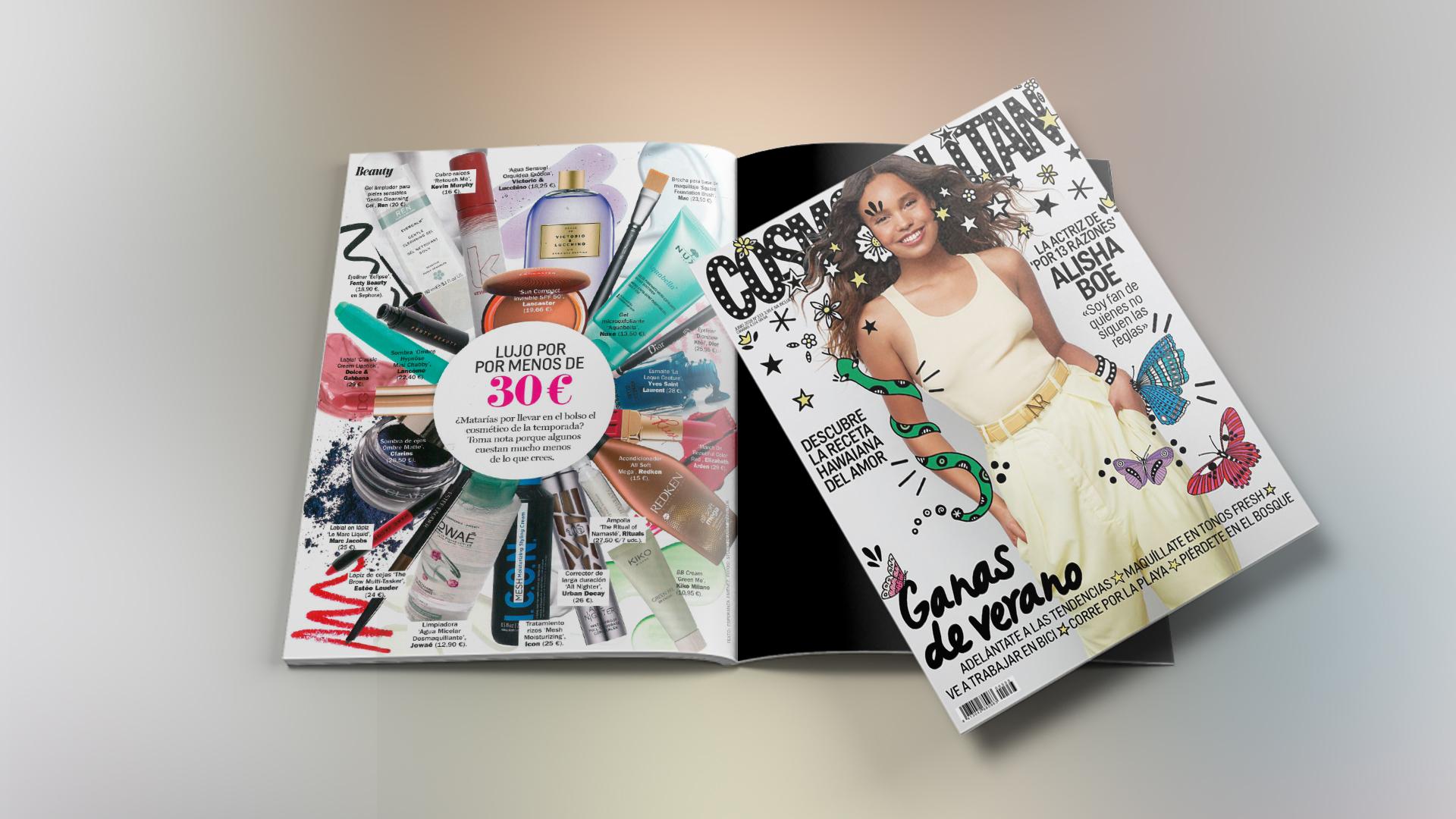 Mesh Styling Cream en Cosmopolitan Magazine