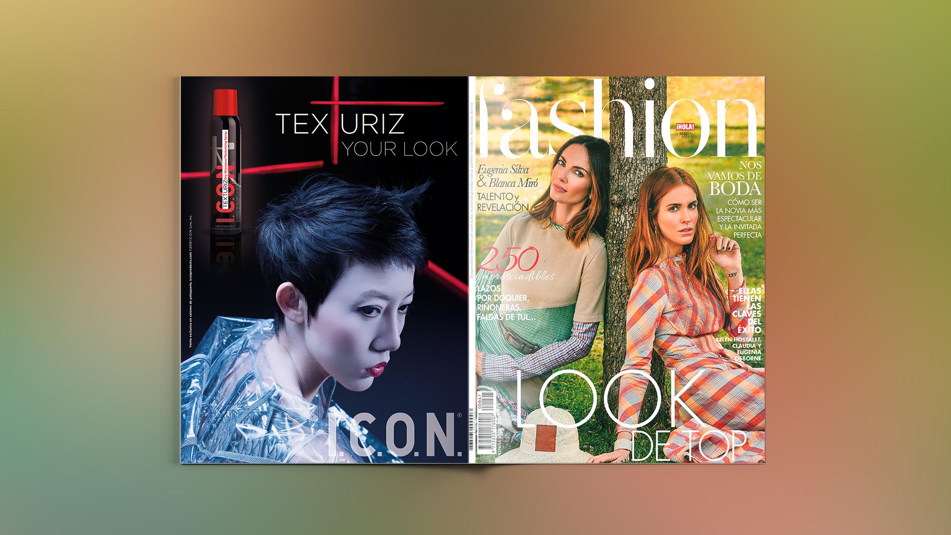 Texturiz de I.C.O.N. en Hola! Fashion