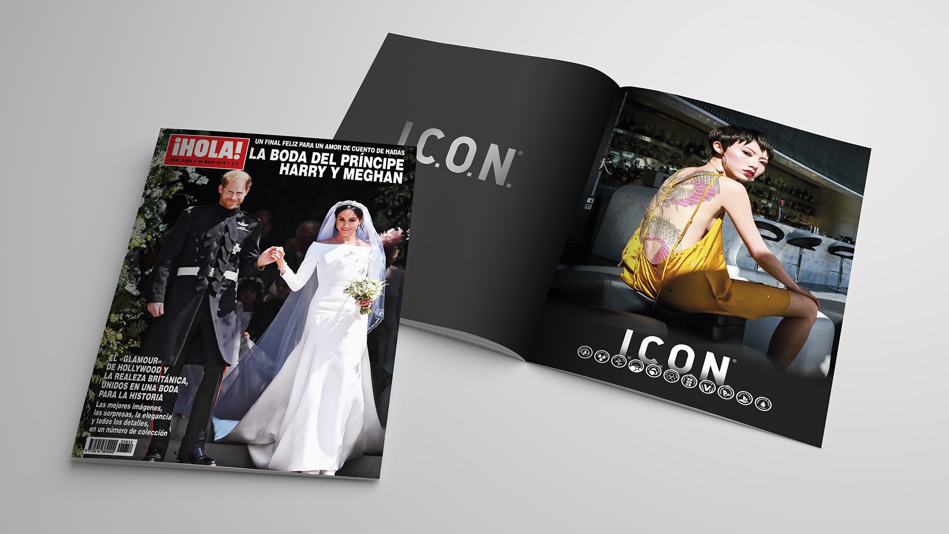 I.C.O.N. en la revista ¡Hola!