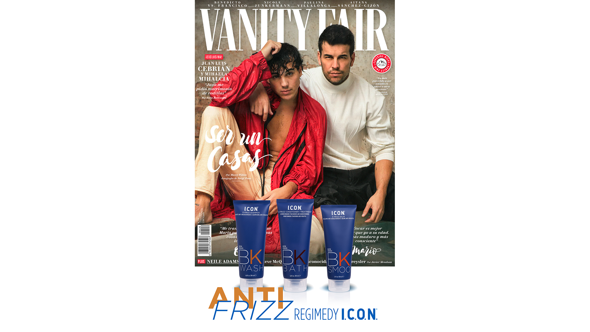 Regimedy Anti-Frizz en Vanity Fair
