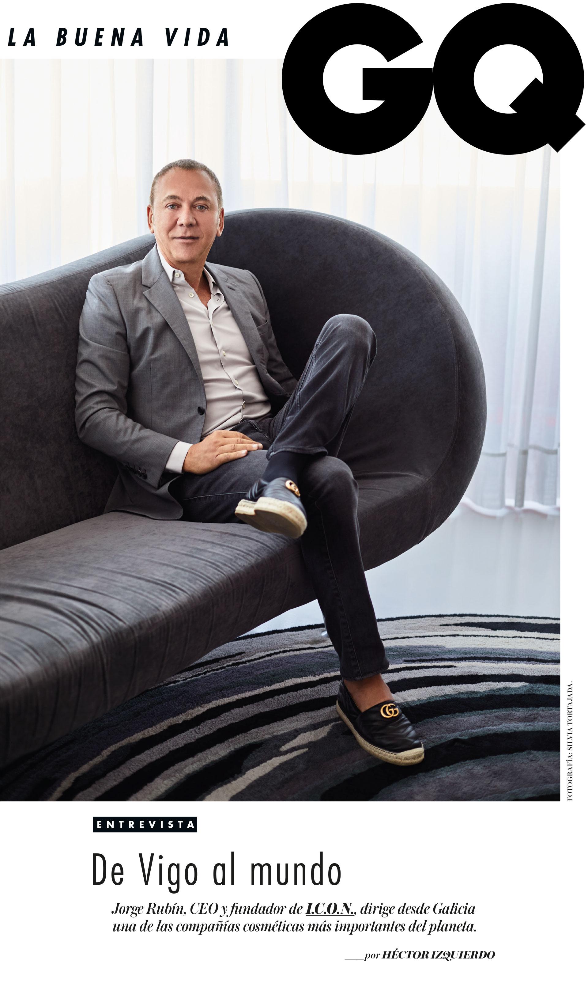 Entrevista a Jorge Rubín en GQ
