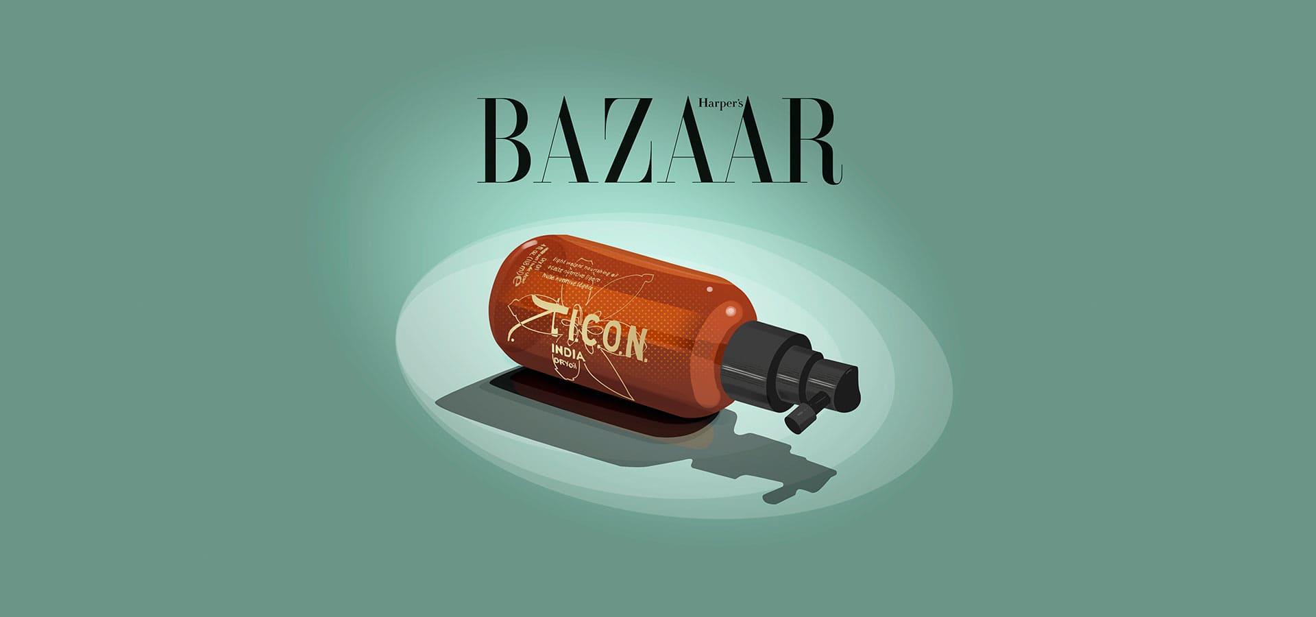 India Dry se gana un 10 en Harpers Bazaar