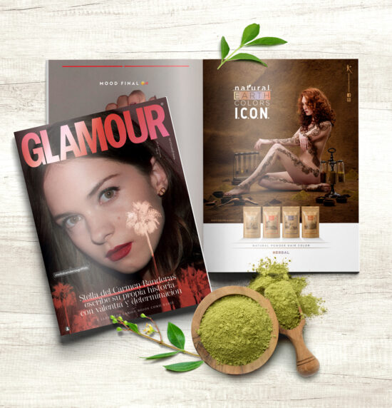 Natural Earth Colors en Glamour