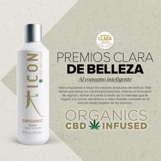 ¡Participa en los Premios Clara! Organic Shampoo, mejor producto de cabello