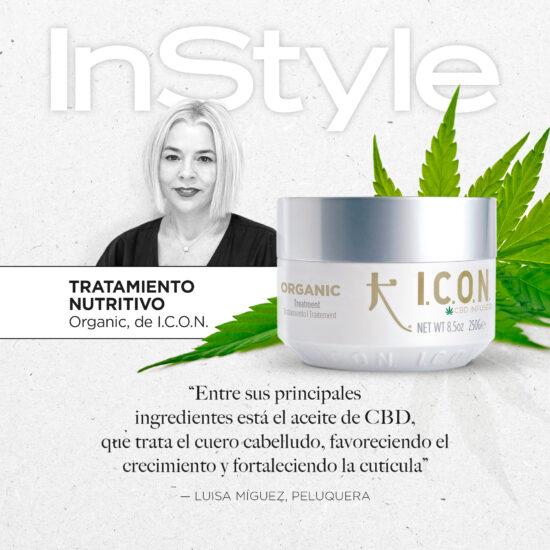 Organic Treatment recomendado por InStyle