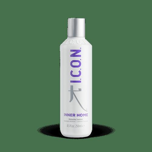 Inner de I.C.O.N. Products es un tratamiento hidratante para el cabello. Penetra profundamente en el cabello ayudando a reconstruirlo y reparando el daño.