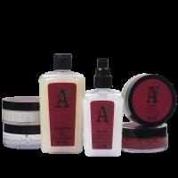 Productos Mr. A para el cuidado del cabello del hombre