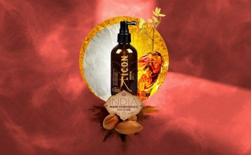 I.C.O.N. India es la gama de productos I.C.O.N. basada en el Ayurveda para llevar los beneficios de los aceites al cuidado del cabello.