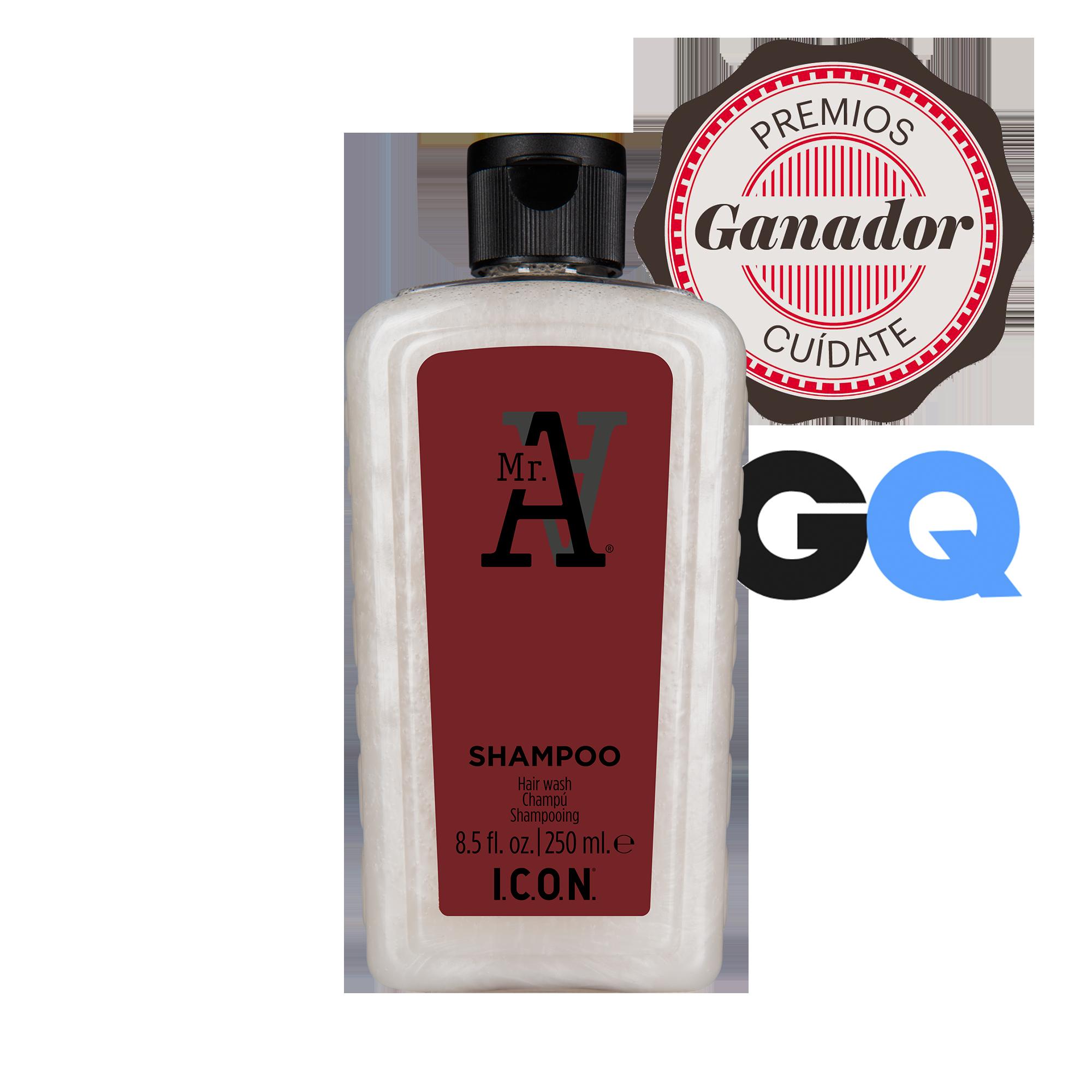 Mr. A Shampoo | I.C.O.N. Products | Champú para hombres