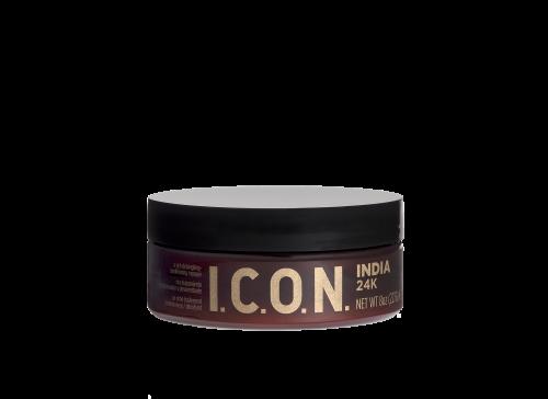 India 24K es un tratamiento acondicionador y desenredante que transforma el interior del cabello con micro-perlas y partículas microscópicas de oro.