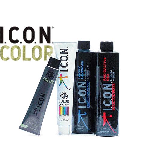 Productos I.C.O.N. de coloración del cabello