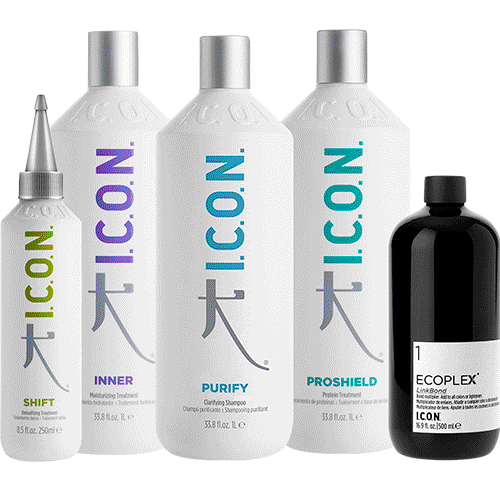 Mixology de I.C.O.N. Products se basa en el conocimiento profesional para lograr los máximos beneficios en el cuidado del cabello.