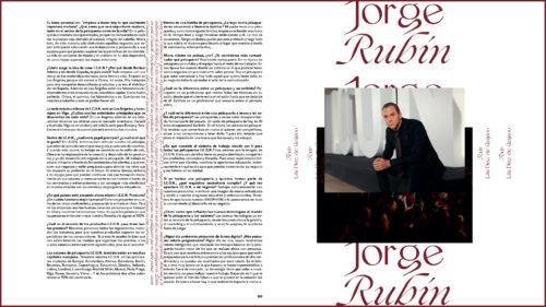 Jorge Rubín, fundador de I.C.O.N. Products en Neo2