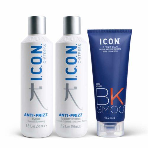 Productos I.C.O.N. del Regimedy Antifrizz